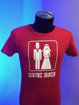 T-shirt 158-Rood-XXL